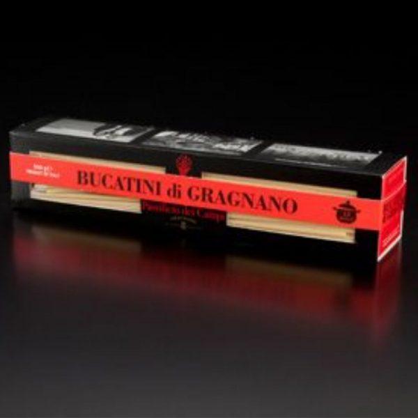 Les bucatini sont très bien pour les sauces type cacio e pepe surtout les bucatini artisanales de Gragnano de l'épicerie fine italienne Les Bonnes Pâtes