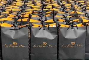 Coffrets cadeaux B2B composé par l'épicerie Les Bonnes Pâtes pour les voeux de fin d'annéeée
