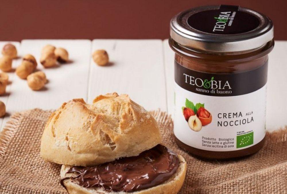 Grâce à l'épicerie fine italienne Les Bonnes Pâtes, faites un bon goûter à vos enfants avec la crème de noisettes bio Teo & Bia