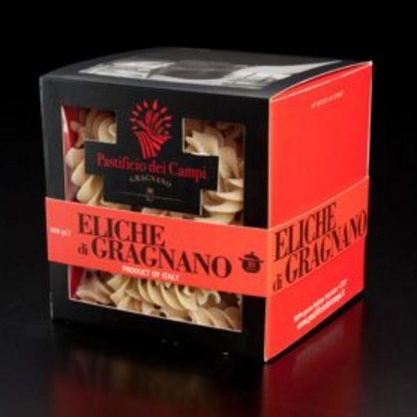 Les Eliche di Gragnano sont de belles pâtes artisanales dans les rayons de l'épicerie italienne Les Bonnes Pâtes