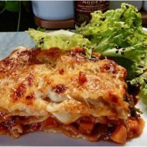 Une recette gourmande de lasagnes maison réalisées par une très bonne cliente de l'épicerie italienne Les Bonnes Pâtes à Renn