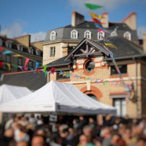 Le marché à manger du 6 octobre avec la boutique de pâtes rennaise et le traiteur Angau