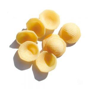 Orecchiette des Pouilles, une forme typique de Benedetto Cavalieri, producteur distribué par l'épicerie italienne Les Bonnes Pâtes