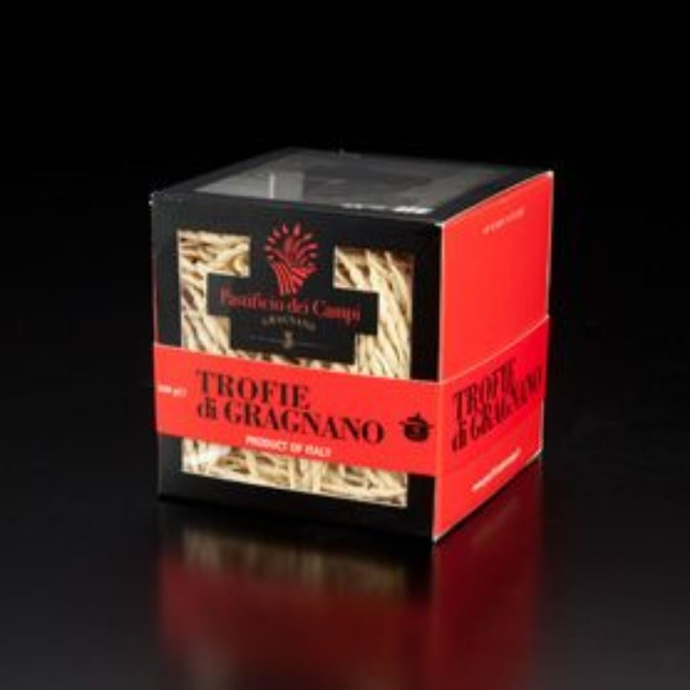 Trofie di Gragnano, les pâtes idéales pour le pesto à l'épicerie italienne Les Bonnes Pâtes