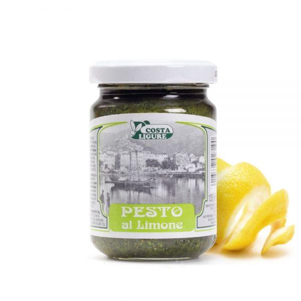 Ce pesto citron de Ligurie est aussi bon qu'un pesto frais comme tous les pestos de la boutique-épicerie rennaise