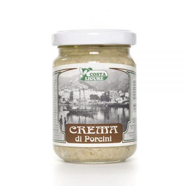 Une sauce italienne aux cèpes de Costa Ligure en vente à l'épicerie rennais.
