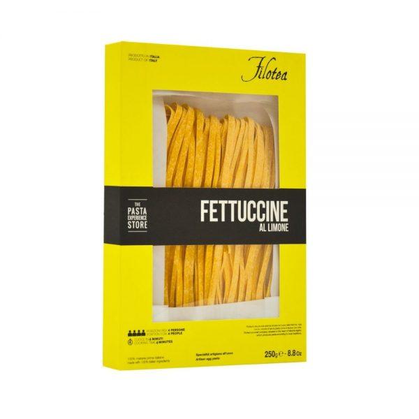 Fettucine au citron de Filotea, producteur de pâtes sèches artisanales aux oeufs