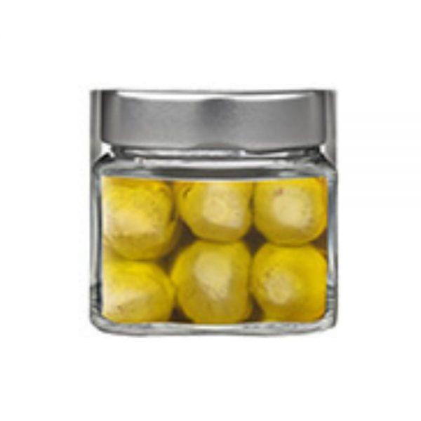 Mini artichauts dans l'huile d'olive, antipasti de Maïda producteur de Campanie.