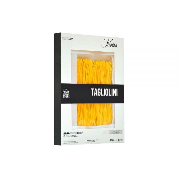 Pâtes fines Tagliolini de Filotea, producteur de pâtes sèches artisanales aux oeufs