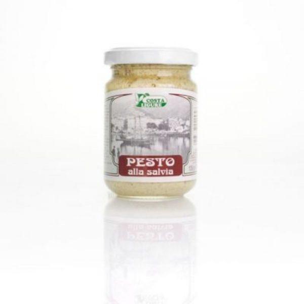 Le meilleur pesto à la sauge, doux et savoureux en provenance de Ligurie.