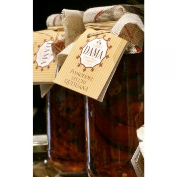 Excellentes tomates séchées de Campanie par une petite productrice qui est distribuée uniquement en France dans l'épicerie rennaise Les Bonnes Pâtes.