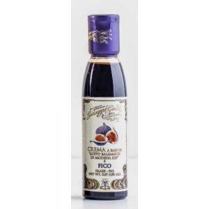 Cette crème à base de vinaigre de balsamique de Modène IGP est un assaisonnement irrésistible à la figue.