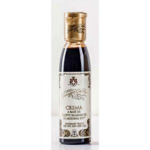 Cette crème à base de vinaigre de balsamique de Modène IGP est un assaisonnement irrésistible