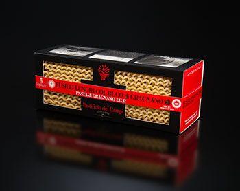 Fusilli lunghi col buco producteur de Gragnano Pastificio dei Campi, dans la boutique de produits italiens rennaise.