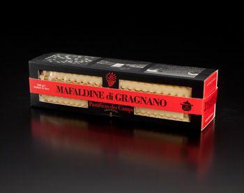 Mafaldine de Gragnano la ville des meilleures pâtes artisanales avec le producteur Pastificio dei Campi