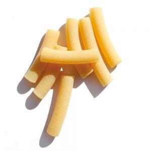 En formes de tubes longs, les maccheroni de Benedetto Cavalieri sont des pâtes artisanales parfaites.