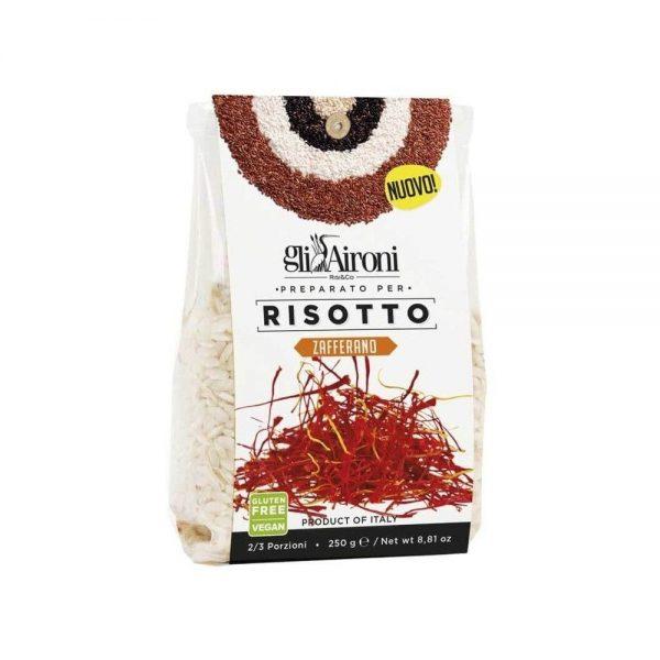 Un risotto au safran Gli Aironi prêt en 15 minutes!