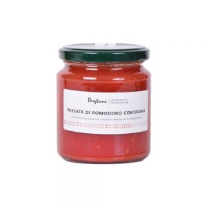 une sauce biologique au vrai goût de tomates italiennes ensoleillées de Paglione.