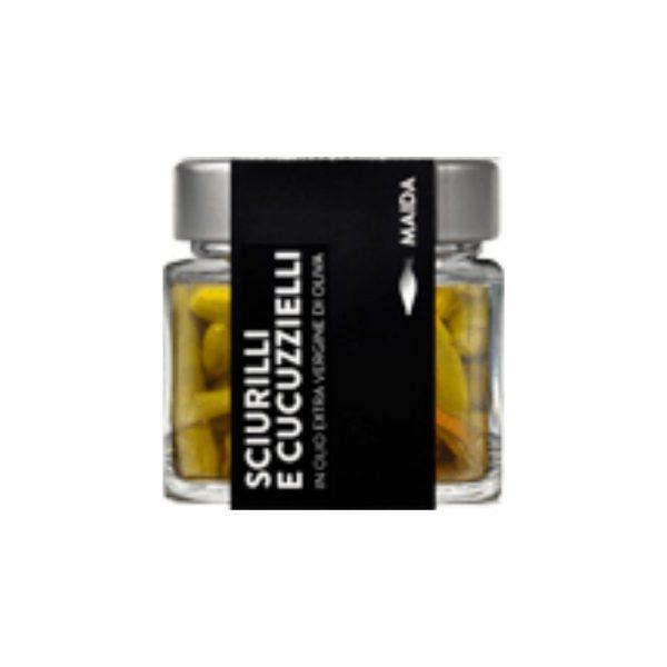 Légumes du soleil dans l'huile d'olive sans conservatuers, sans additifs, Maïda dans la boutique Les Bonnes Pâtes.