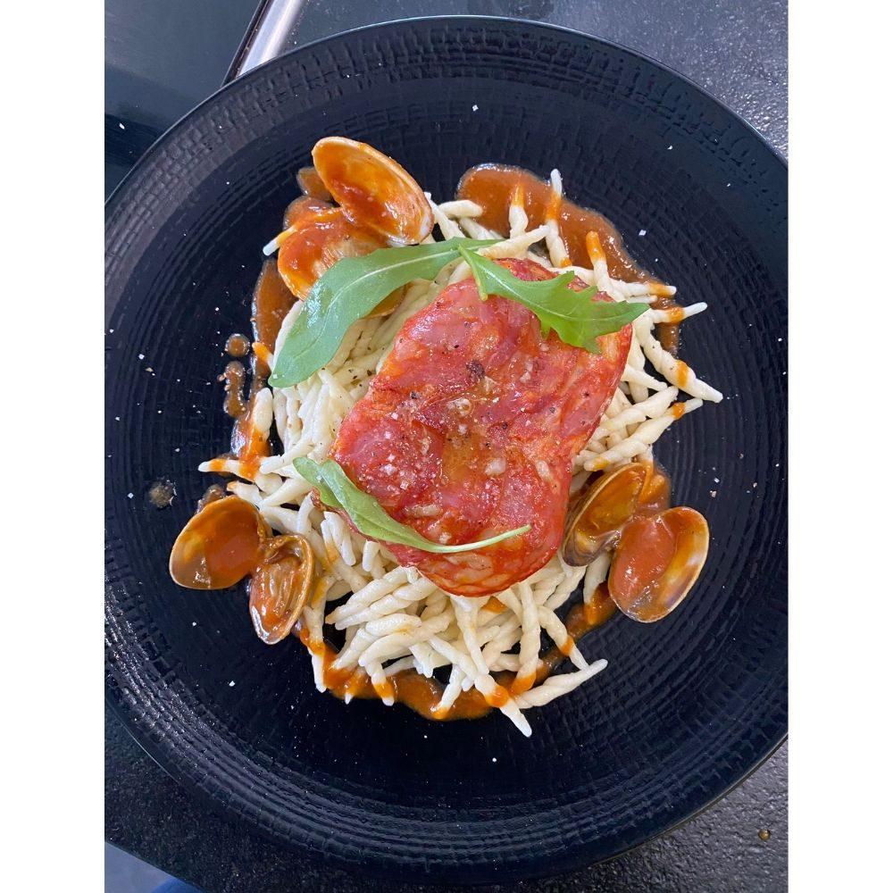 Avec le pesto mais pas seulement, les trofie sont avant tout de bonnes petites pâtes artisanales qui prennent bien la sauce!