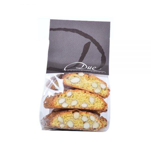 Biscuits aux amandes typiquement originaires de Toscane, très croquants!