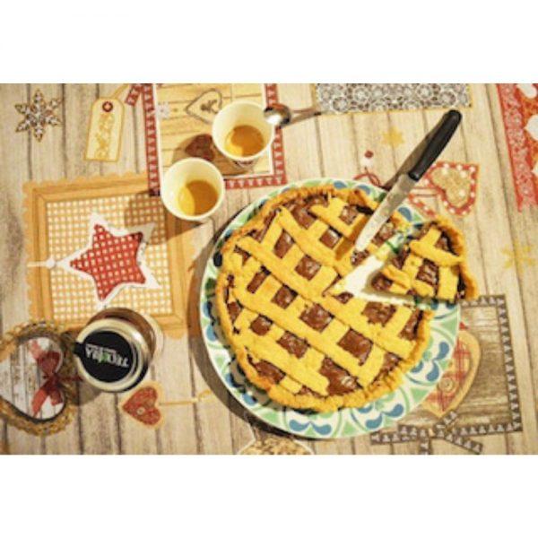 La tarte italienne Crostata revisitée avec cette délicieuse pâte à tartiner aux noisettes bio de chez Teo e Bia.