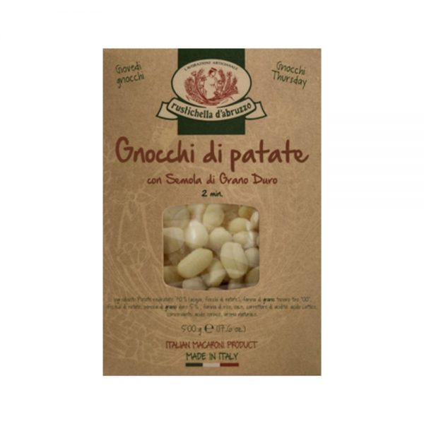 Les Gnocchi de Rustichella d'Abruzzo sont très faciles à préparer et typiquement italiens.
