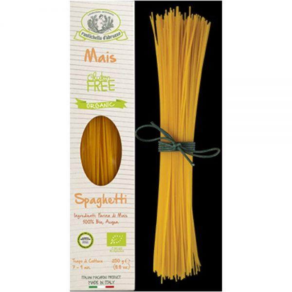 On trouve aussi du bon gluten free dans l'épicerie italienne, des spaghetti artisanal 100% farine de maïs bio par exemple de chez Rustichella d'Abruzzo.