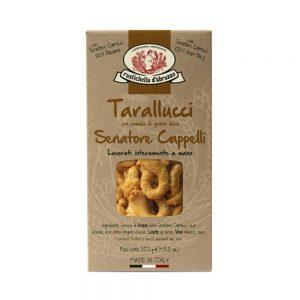 """Les taralli, ces petits biscuits ronds et croquants typiquement italiens se trouvent à l'épicerie italienne """"Les Bonnes Pâtes""""."""