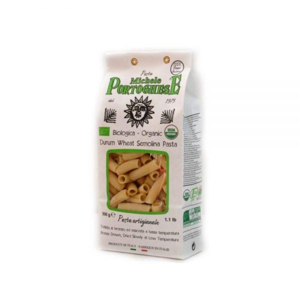 Maccheroni issus de l'agriculture biologique pour une cuisine italienne saine et savoureuse.