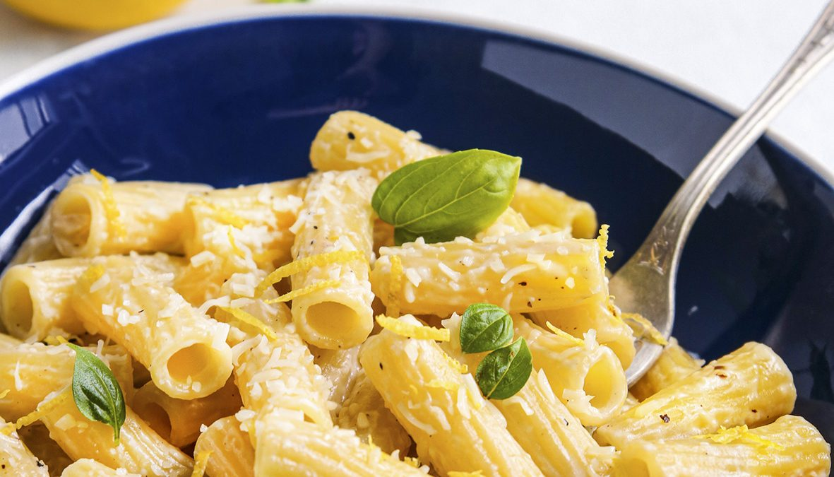 Recette de pâtes Michele Portoghese maccheroni au citron proposée par la blogueuse culinaire Agathe Duchesne.