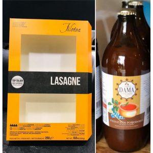Ingrédients pour de bonnes lasagnes maison