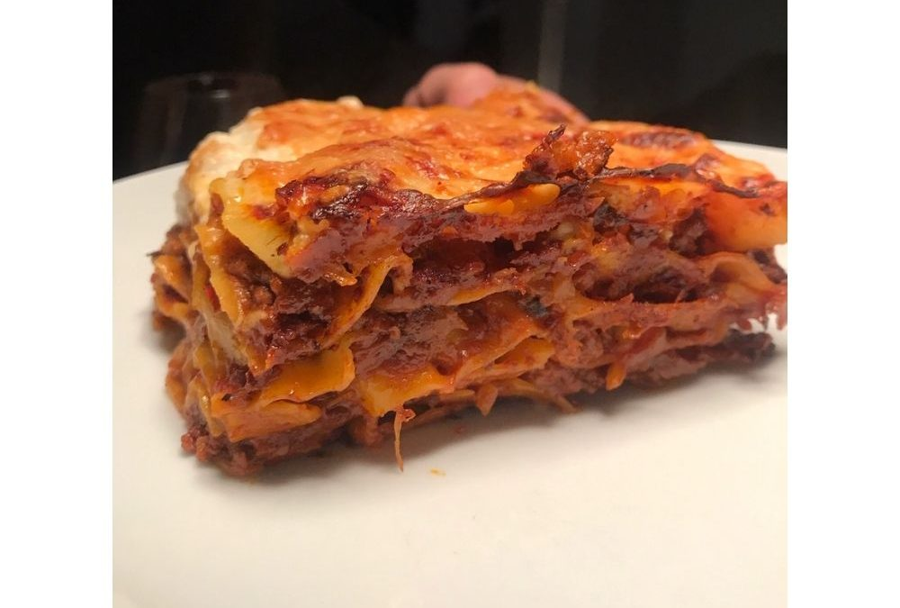 Une recette gourmande de lasagnes maison réalisées par une très bonne cliente de l'épicerie italienne Les Bonnes Pâtes à Rennes