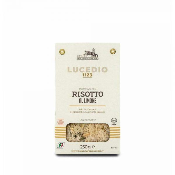 Un délicieux risotto crémeux au citron du producteur Lucedio, prêt en 15 minutes, bon comme celui de la mamma italienne!