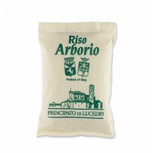 Riz italien Arborio Du producteur du Piémon,t Principato di Luicedio, crémeux, sain et savoureux, parfait pour le risotto.