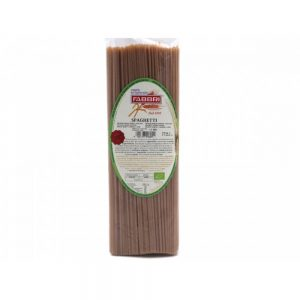 Spaghetti Giovanni Fabbri au blé ancien de Toscane le Cappelli, idéal pour les sensibilités au gluten.