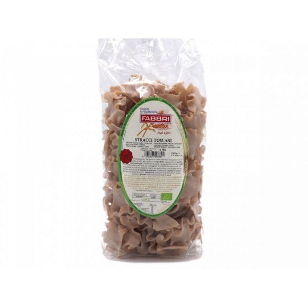 Jolies pâtes, les Stracci Toscani de Giovanni Fabbri au blé ancien de Toscane le Cappelli, idéal pour les sensibilités au gluten.