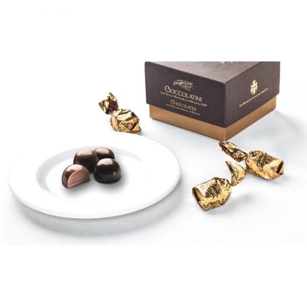 En vente, les chocolats au vinaigre balsamique Giusti, un délice!