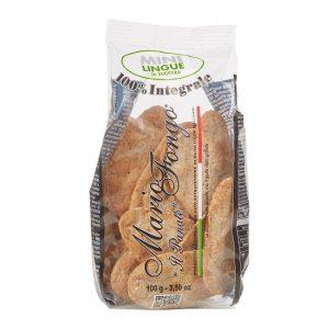 En vente dans la boutique els Bonnes Pâtes, les mini lingue au blé complet comme des petits crackers que l'on peut utliser à l'apéritif.
