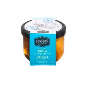Délicieux babas au rhum et vanille selon la recette du chef étoilé Luc Mobihan des Babas de Saint Malo.