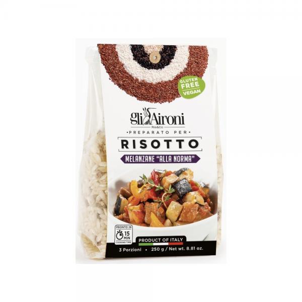Retrouvez le risotto alla norma,gli aironi, dans la boutiques Les Bonnes Pâtes à Rennes !